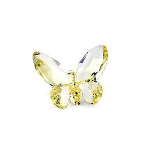 Swarovski Butterfly Jonquil Crystal — Yellow